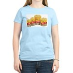 Movie Popcorn Women's Pink T-Shirt