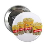 Movie Theater Popcorn Button (10 pack)