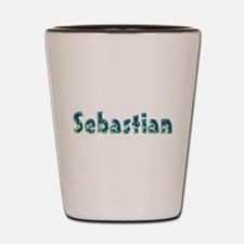 Sebastian Under Sea Shot Glass