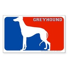 """Greyhound"" MLD Rectangle Decal"