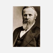Rutherford B. Hayes Rectangle Magnet