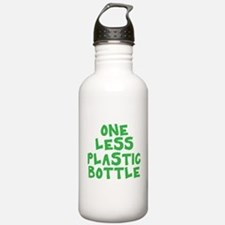 One Less Plastic Bottle Water Bottle