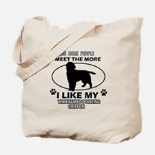 Wirehaired Pointing Griffon dog breed designs Tote