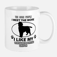 Wirehaired Pointing Griffon dog breed designs Mug