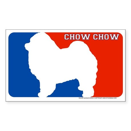 """""""Chow Chow"""" MLD Rectangle Sticker"""