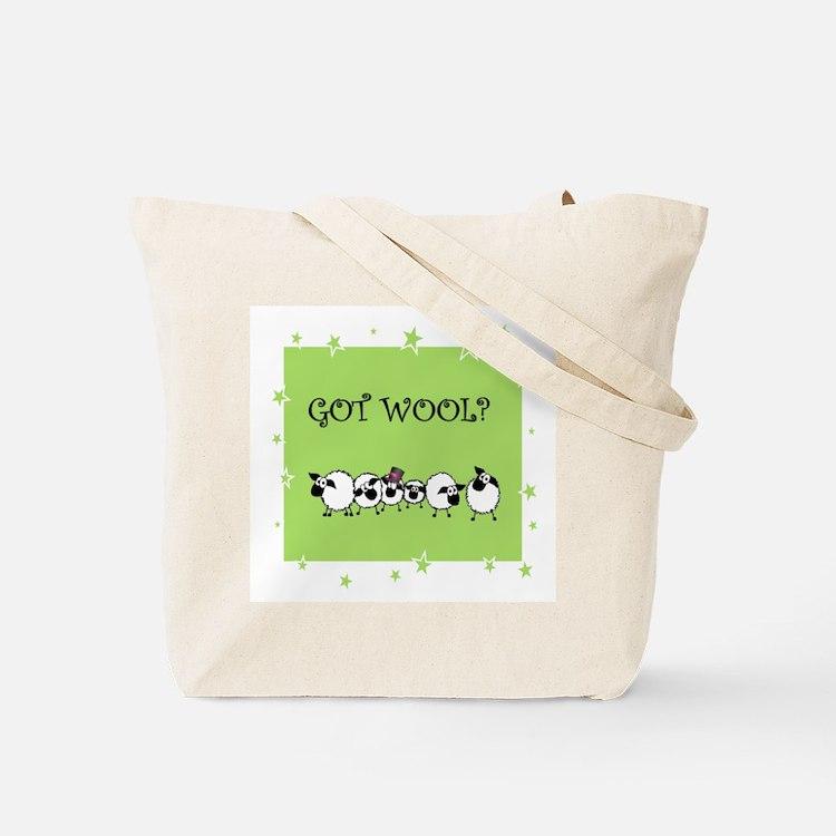 GOT WOOL? Tote Bag