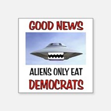 ALIENS EAT Sticker