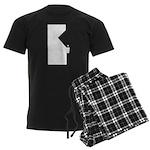 Retro Gaming arcade Men's Dark Pajamas