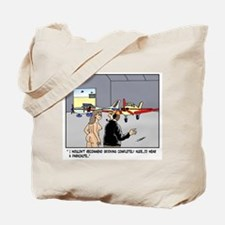Nude Skydiver Tote Bag