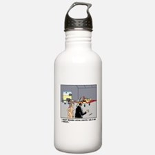 Nude Skydiver Water Bottle