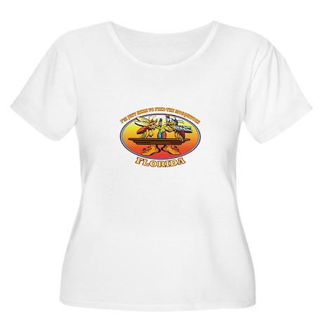 Mo&Squito Design Plus Size T-Shirt