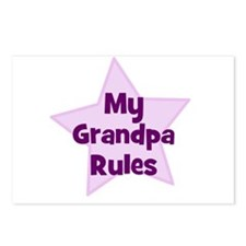 My Grandpa Rules Postcards (Package of 8)