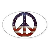Peace and love Stickers & Flair