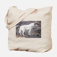 """""""Lost Wolf"""" Tote Bag"""