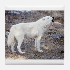"""""""Lost Wolf"""" Tile Coaster"""