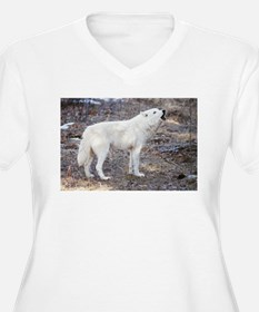 """Lost Wolf"" Plus Size T-Shirt"