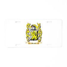 Brandi Aluminum License Plate