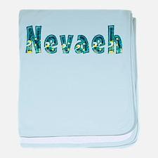 Nevaeh Under Sea baby blanket