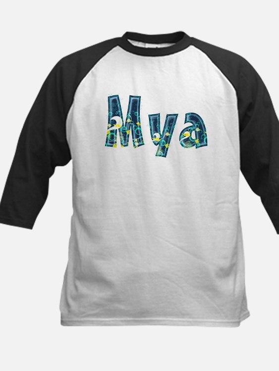 Mya Under Sea Baseball Jersey