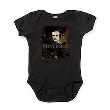 Poe Raven Nevermore Baby Bodysuit