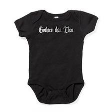 Gothier Than Thou Baby Bodysuit