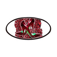 Red Leopard Stiletto's Patches