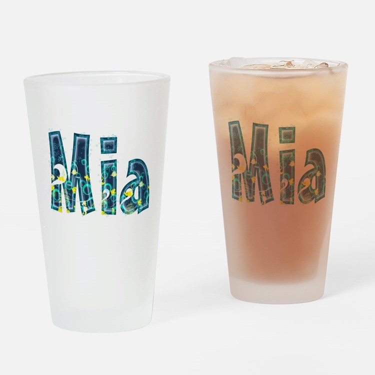 Mia Under Sea Drinking Glass