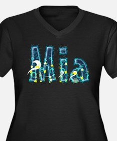 Mia Under Sea Plus Size T-Shirt