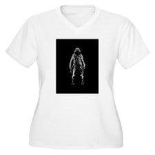 spaceman outer space Plus Size T-Shirt