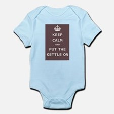 Keep Calm and Put the Kettle On Infant Bodysuit