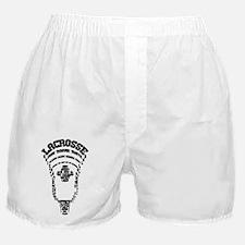 Lacrosse Head Attack Boxer Shorts