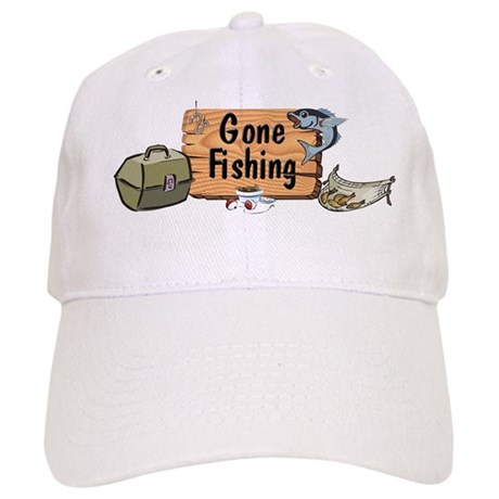 Great Grandpa Gone Fishing Cap