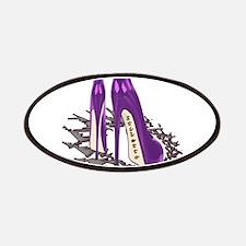 Purple Stiletto Art Patches