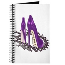 Purple Stiletto Art Journal