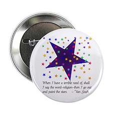 Starry Night Button