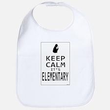 Keep Calm it's Elementary Bib