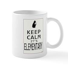 Keep Calm it's Elementary Mug