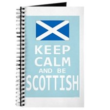 Keep Calm and Be Scottish Journal