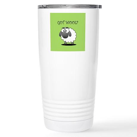 GOT WOOL? Travel Mug