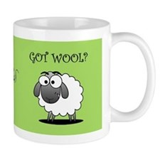 GOT WOOL? Small Mug