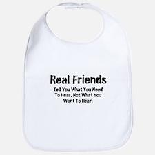 Real Friends Bib