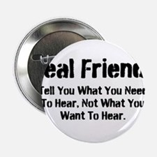 """Real Friends 2.25"""" Button"""
