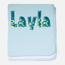 Layla Under Sea baby blanket