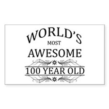 World's Most Awesome 100 Year Old Decal