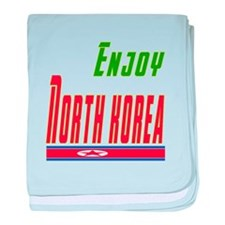 North Korea Designs baby blanket