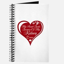 Personalize me Red Transplant Heart Journal