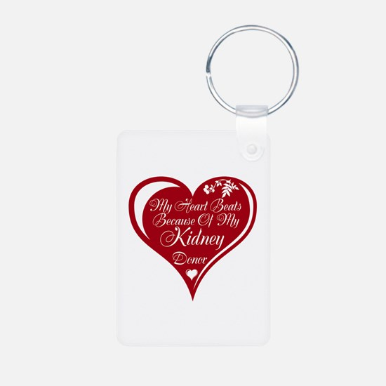 Personalize me Red Transplant Heart Aluminum Photo