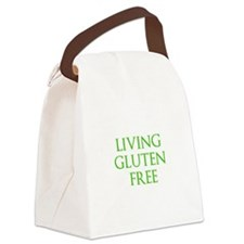 LIVING GLUTEN FREE Canvas Lunch Bag