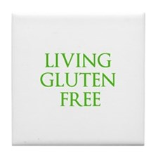 LIVING GLUTEN FREE Tile Coaster