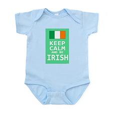 Keep Calm and Be Irish Infant Bodysuit